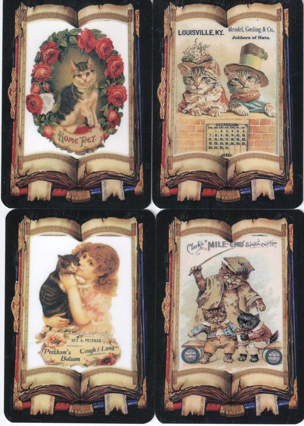 """Серия календарей """"Кошки на старинных открытках"""" 12 штук 2011 год"""