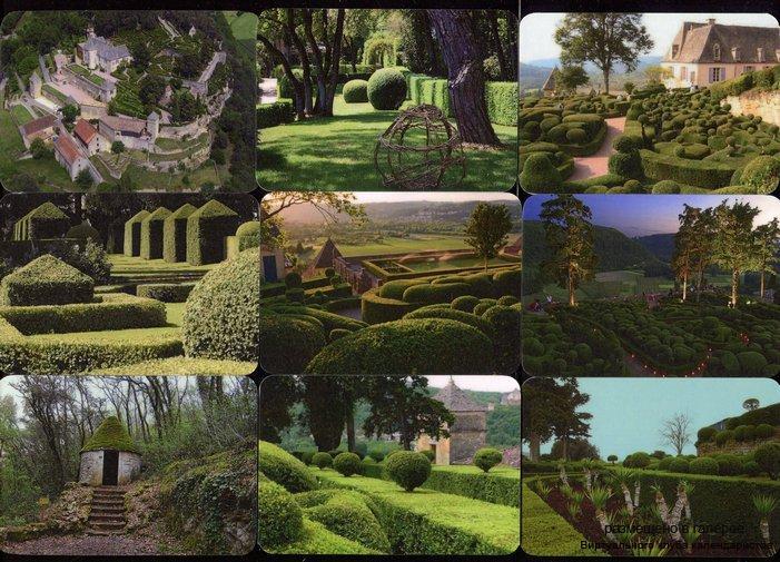 Серия календарей «Висячие сады замка Маркессак» 20 штук 2016 год