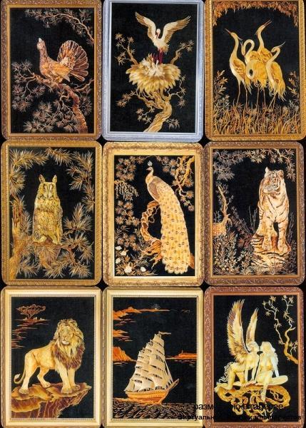 Серия календарей «Картины из соломки» 12 штук 2012 год