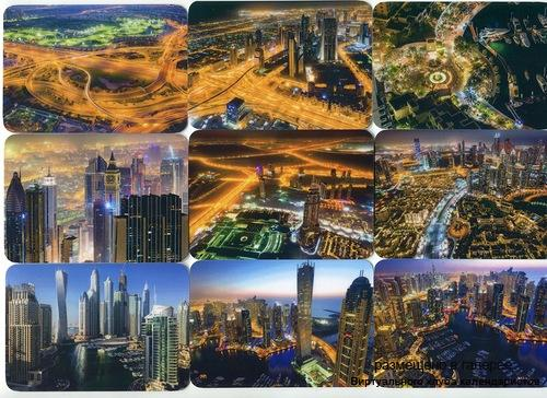 Серия календарей «Дубай» 24 штуки 2014 год