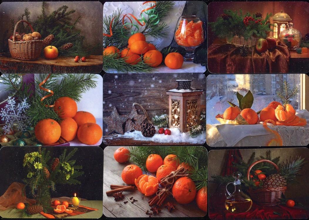 Серия календарей «Зимние натюрморты» 22 штуки 2020 год